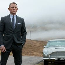 "This film image released by Columbia Pictures shows Daniel Craig as James Bond in the action-adventure film, ""Skyfall."""